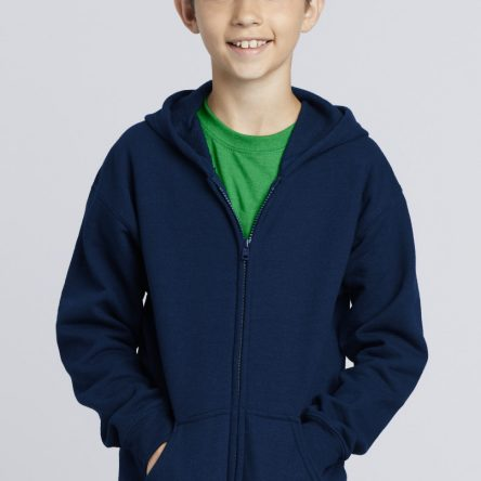 Gildan Gildan Children's Zipped Hooded Sweat